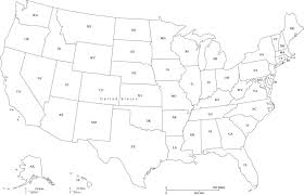Map Of Usa And Hawaii by Usa Map With State Abbreviations In Adobe Illustrator And