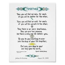 wedding blessing personalized apache wedding blessing poster zazzle