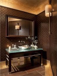 Powder Room Modern Designer Powder Rooms Rectangle White Wool Floor Mat Bowl Shape