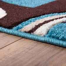 Galaxy Rug Chocolate Brown And Blue Area Rug Rug Designs