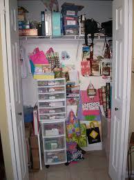 cute u0026 simple creating a craft gift closet leslie lindsay
