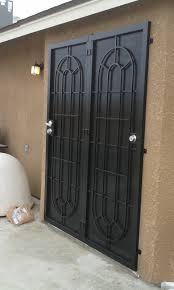 Wrought Iron Patio Doors by Patio Doors Condoor Security Wrought Iron Works
