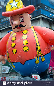 fireman balloon in the 2005 macy s thanksgiving day parade in new