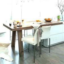 cuisine en u avec table table retractable cuisine fabulous great table bar cuisine