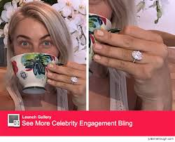 julianne hough engagement ring now that s a rock get an even better look at julianne hough s