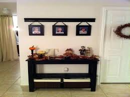 White Foyer Table Foyer Table With Storage This White Console Table Has