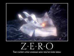 Nightmare Before Christmas Meme - zero ghost motivational poster by vy chelly on deviantart