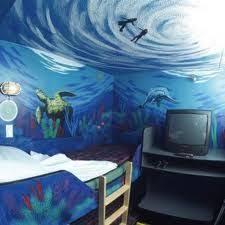 Ocean Themed Kids Room by Underwater Room Kids Rooms Pinterest Underwater Room