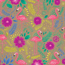 floral gift wrapping paper all occasion everyday floral gift wrap paper flamingo gift wrap