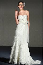 casual wedding dresses uk sheath column chapel strapless backless sleeveless wedding dress