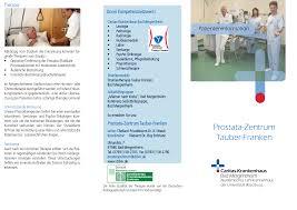 Hausarzt Bad Mergentheim Prostata Zentrum Tauber Franken