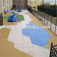 outdoor children playground flooring play area floor tiles
