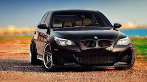 custom black bmw custom bmw e60 4 tuning
