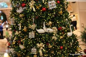 ornaments on tree grand floridian walt disney world