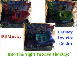 pj masks toys games pajamas
