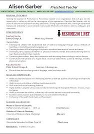 Example Of Education Resume by Examples Of Teaching Resumes Cover Letter Job Application Best