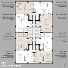 Apartment House Plans Home Design Apartment Building Floor Plans With Dimensions
