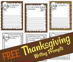 free thanksgiving writing prompts boy