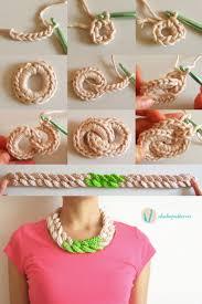best 25 crochet necklace tutorial ideas on pinterest diy boho