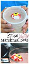 spooky marshmallow eyeballs for a kid u0027s halloween fun