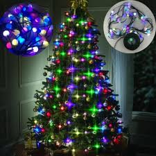 led bulbs tree multi colored lights decor stackable