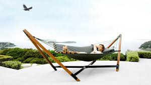 luxury free standing hammocks with wood stands u2013 lujo living