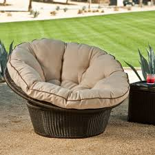 Replacement Cushions For Garden Chairs Furniture Rattan Outdoor Papasan Chair With Floral Cushion Seat