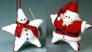 craft these sweet sized felt ornaments plus nine