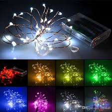 battery operated mini christmas lights 2m 20 led battery mini led copper wire string light aa battery