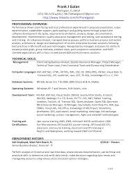 Business Analyst Sample Resume Finance by Entry Level Business Analyst Resume Free Resume Example And