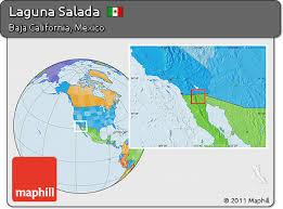 california map laguna free political location map of laguna salada