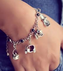 charm bracelet online images Buy wanderlust charm bracelet online india fourseven jpg