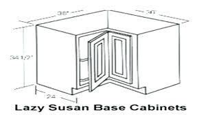 lazy susan cabinet sizes lazy susan cabinet dimensions lazy corner base cabinet dimensions