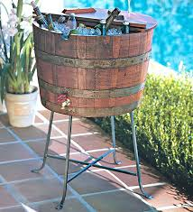 patio beverage cooler cart ideas patio beverage cooler for table with built in cooler we
