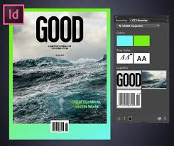 in design turn a comp cc layout into a magazine cover in indesign adobe