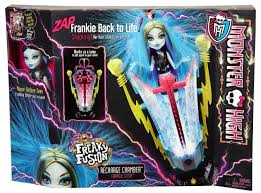 Frankenstein Monster High Halloween Costumes by High Recharge Frankie Station Play Set Freaky Fusion Daughter