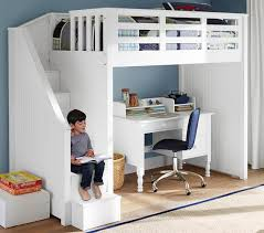 catalina stair loft bed pottery barn kids for the home