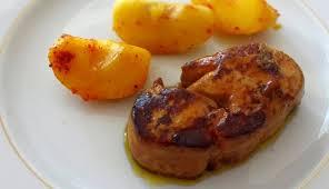 cuisiner foie gras frais toutes nos recettes foie gras frais poêlé aux pommes caramélisées