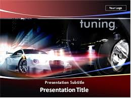 download car tuning and street racing powerpoint template 03 0444