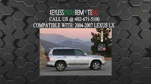 lexus lx450 remote how to replace lexus lx key fob battery 2004 2005 2006 2007 youtube