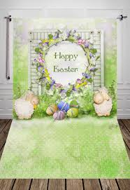 easter backdrops huayi happy easter backdrops photography newborns backdrop xt5226
