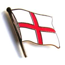 Flag And Cross Cross Of St George Flag England Badge