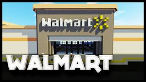 Walmart Map Minecraft Walmart Youtube