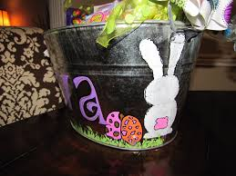 painted easter buckets real real estate real easter