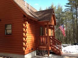 black log cabin sebago lakes region naples bridgton harrison