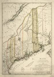 Maine State Map by Map Cabinet Maine An Encyclopedia