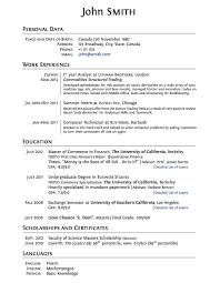 resume template student resume template for high school students with no work experience