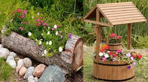 unique wooden flower planter ideas outdoor planters design youtube