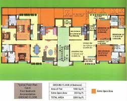floor layout plans floor plan palm court palm court zirakpur punjab residential