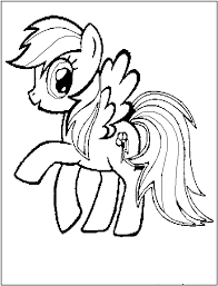 baby pony coloring pages funycoloring